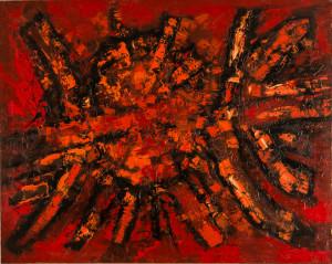 Frank Avray Wilson, FAW786 - Thrusting Reds, 1959