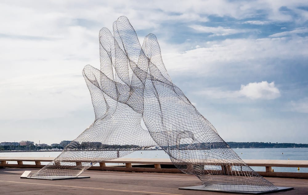TOGETHER by Lorenzo Quinn At the Cannes Film Festival 2021