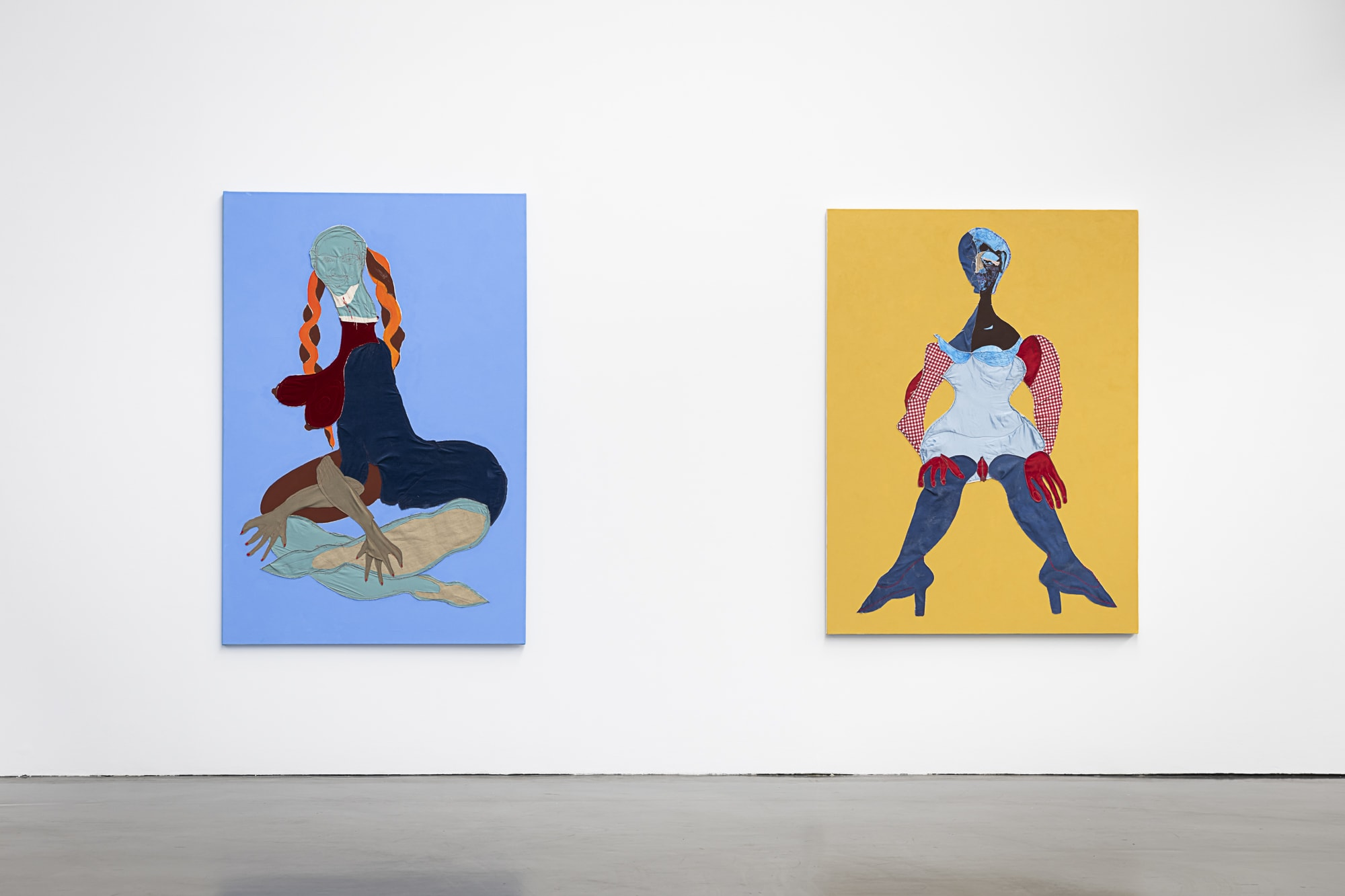 Christina Quarles and Tschabalala Self Journey Through A Body