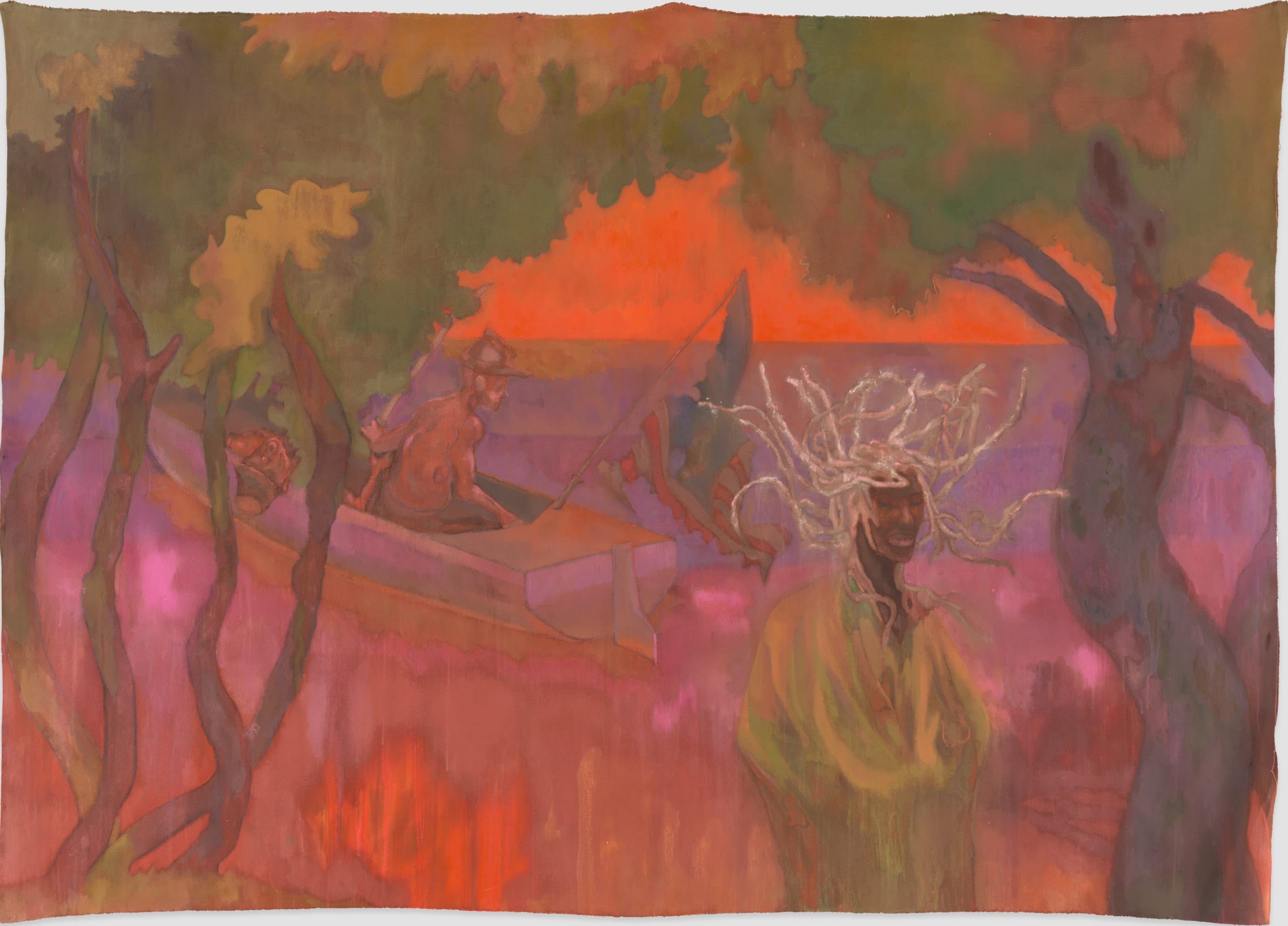 Sedrick Chisom Twenty Thousand Years of Fire and Snow