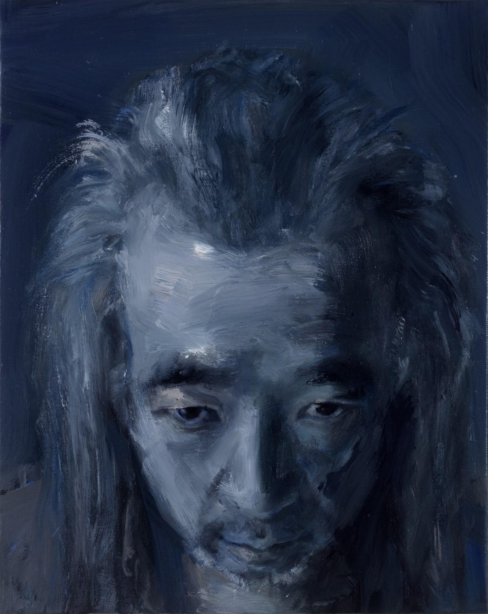 Yan Pei-Ming Autoportraits