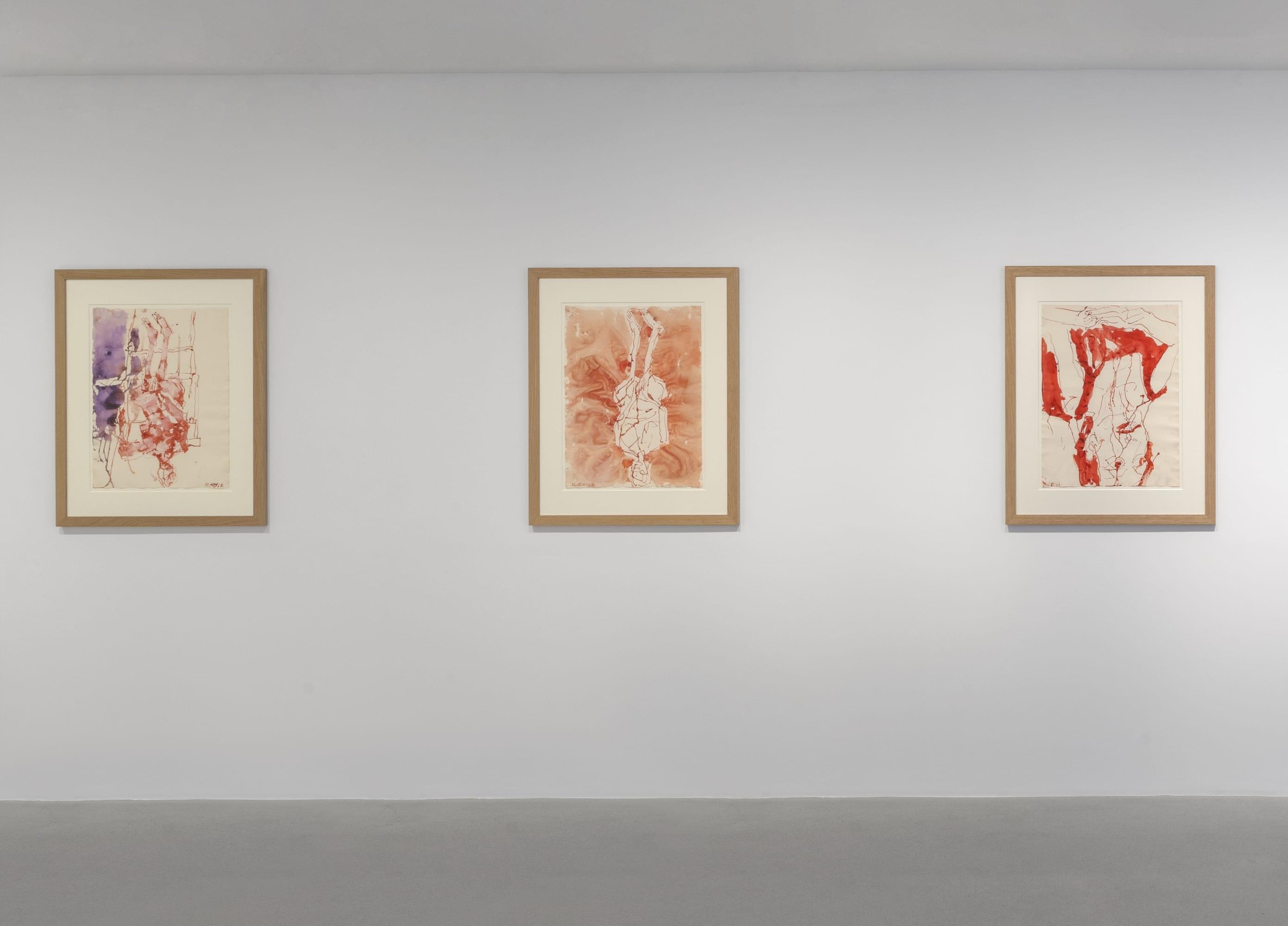 Georg Baselitz New Drawings