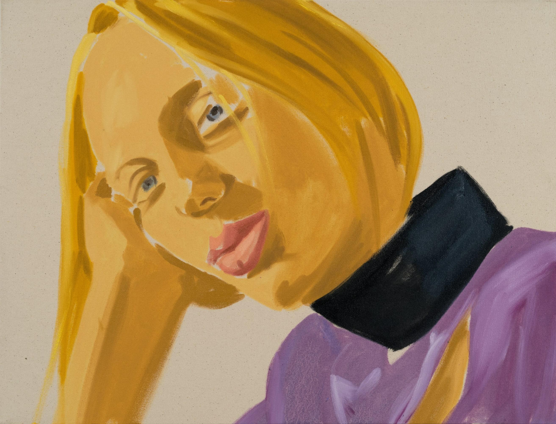 David Salle, Lili 2 (2019); Self-Ironing Pants & Other Paintings at Thaddaeus Ropac Paris Marais 2020