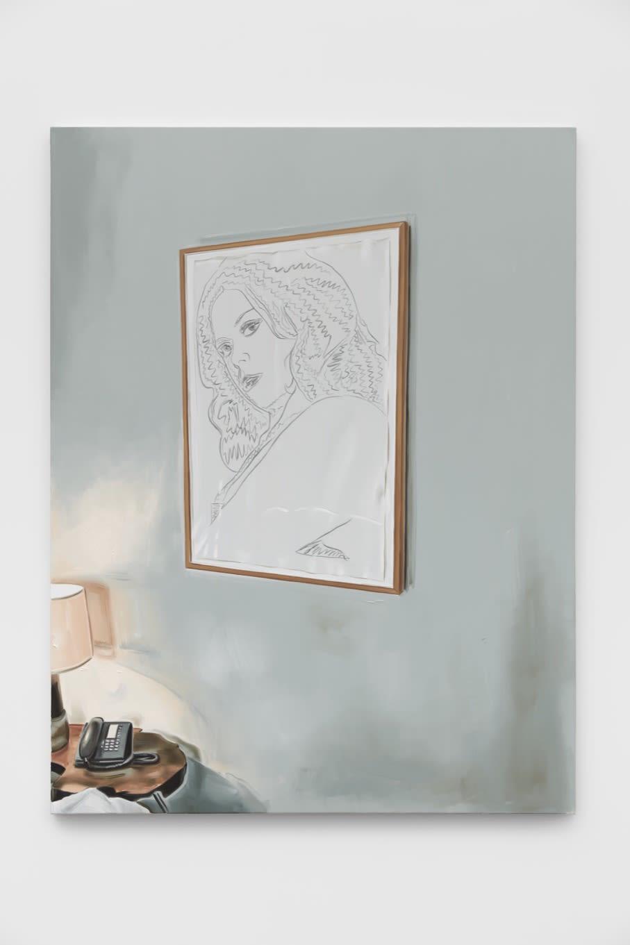 Marcin Maciejowski, Private View (Warhol), 2019