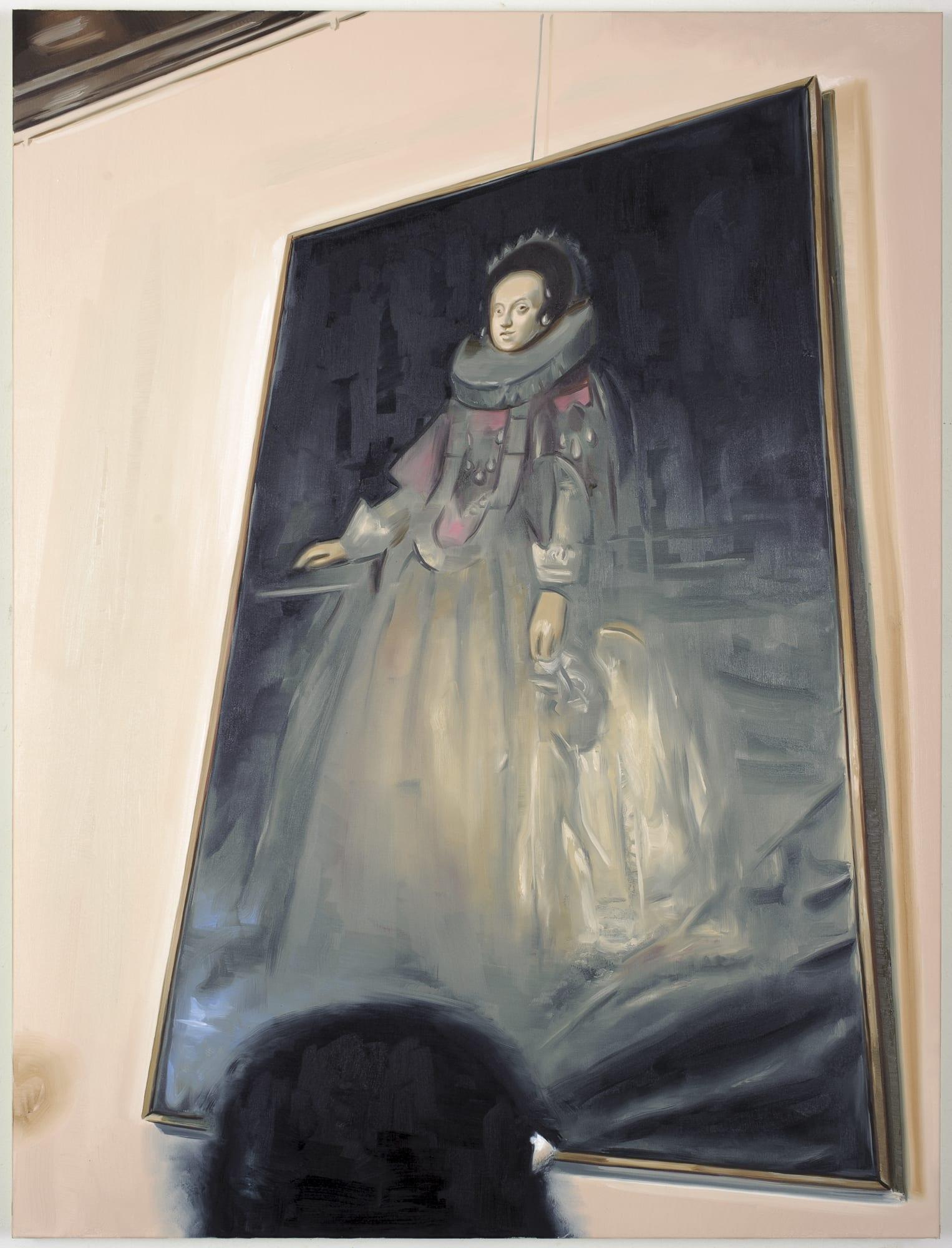 Marcin Maciejowski, Constance of Austria (Pieskowa Skala Castle) (2019); Private View at Thaddaeus Ropac Ely House 2019