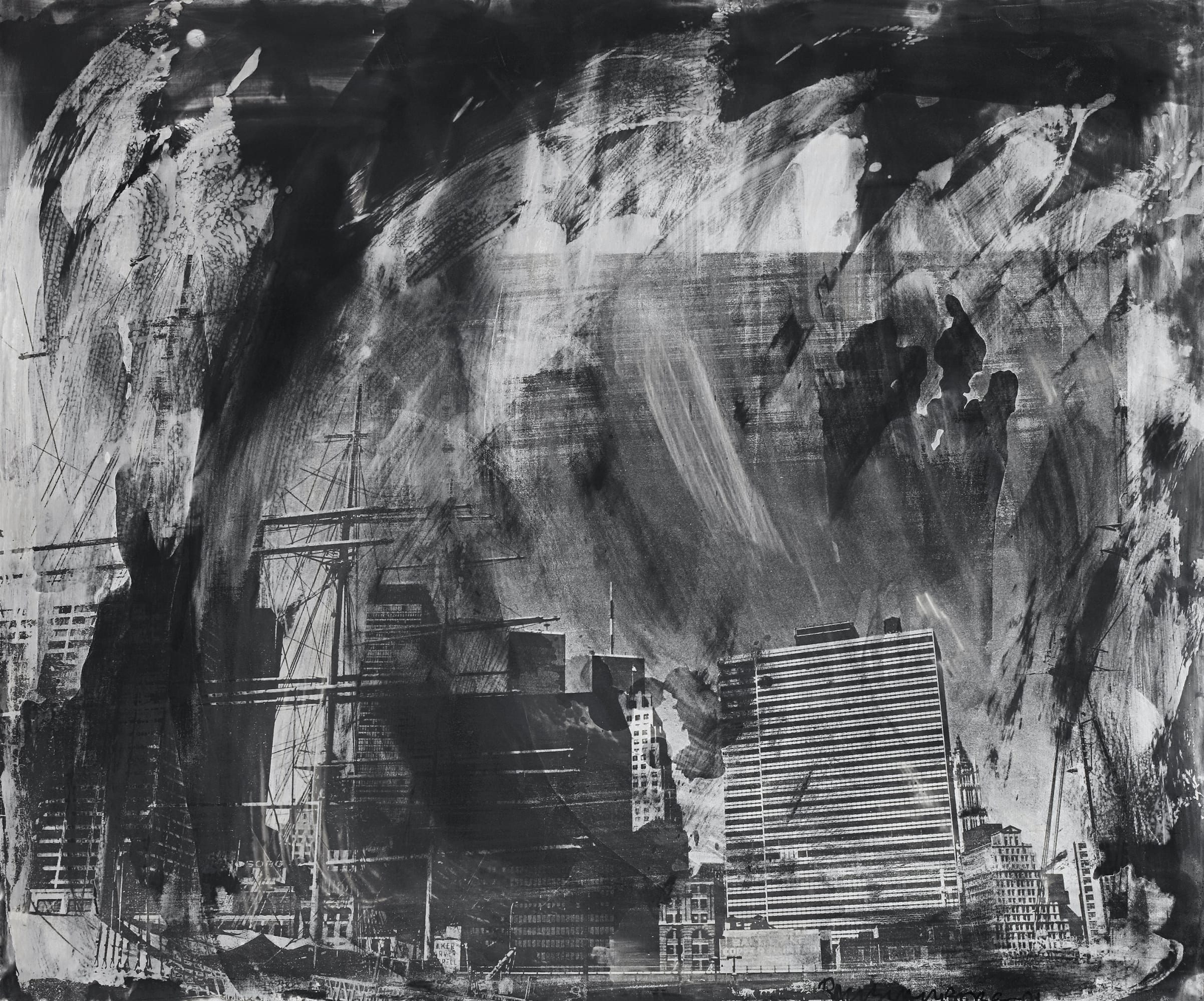 Robert Rauschenberg Night Shades and Phantoms