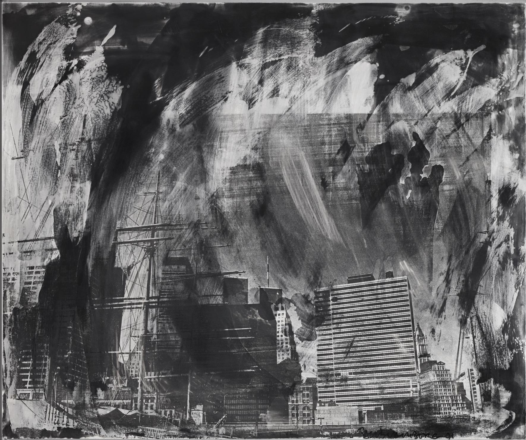 Ten Top Galleries Robert Rauschenberg, Not Vital