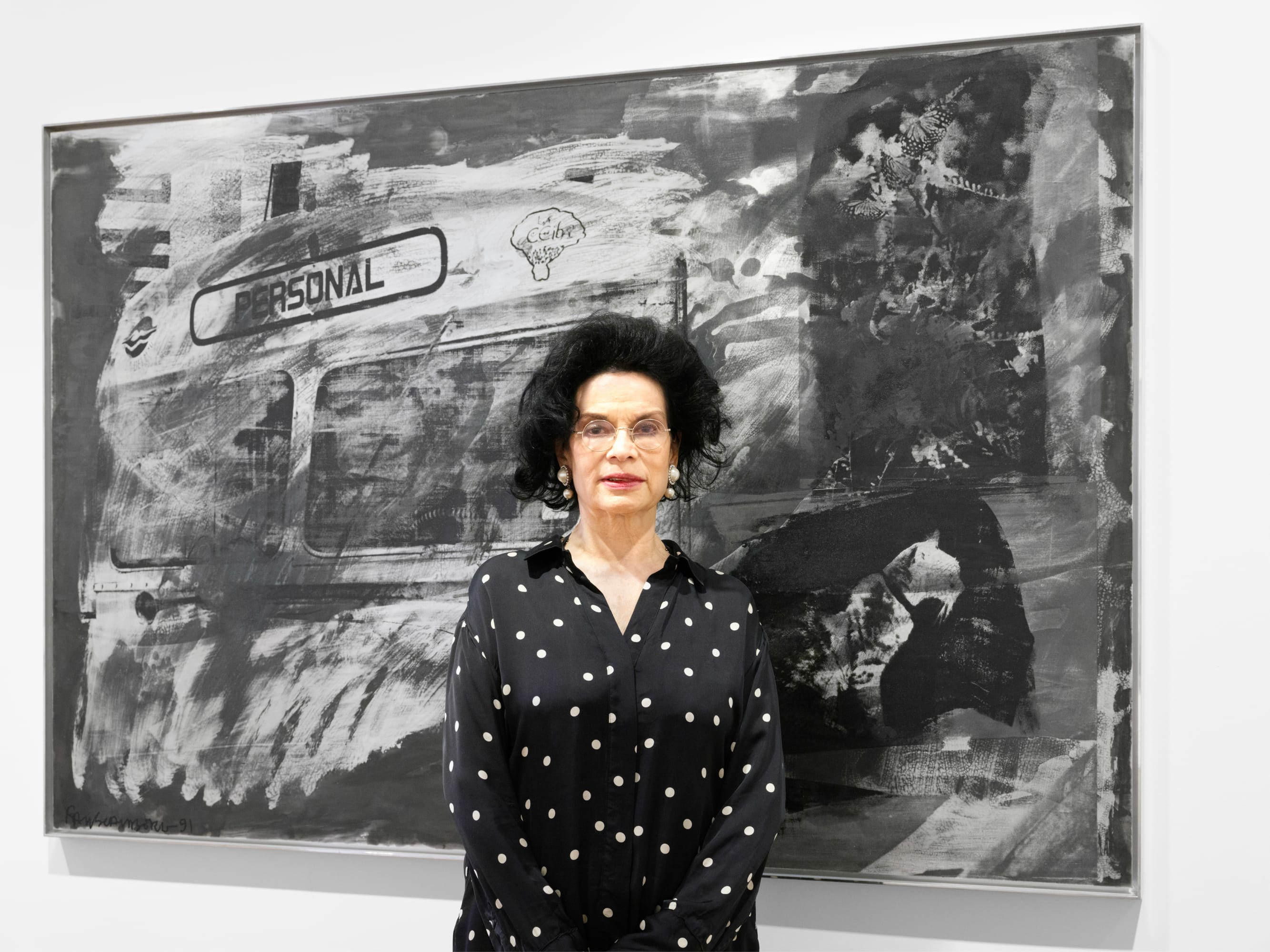 Bianca Jagger's London Gallery Weekend Highlights