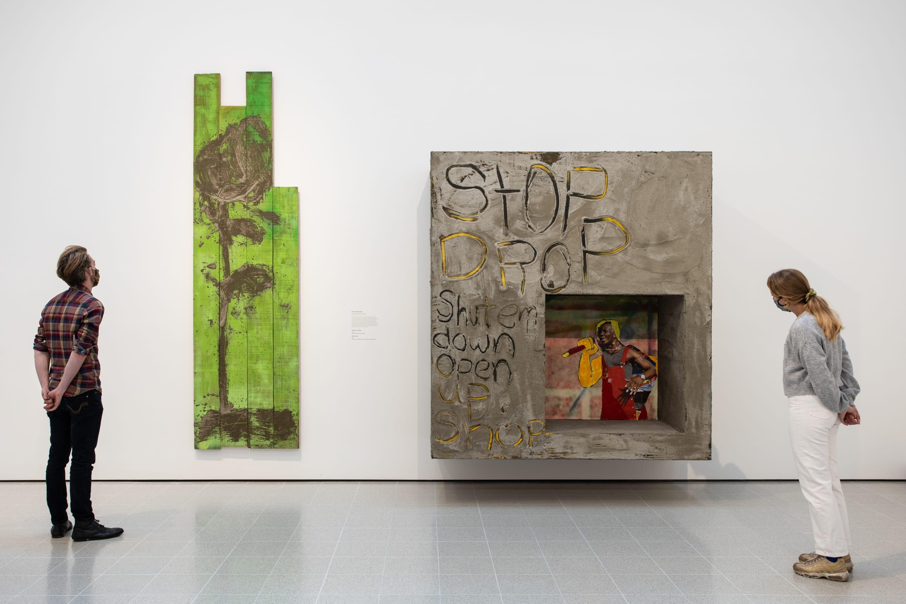 Alvaro Barrington • Rachel Jones Mixing It Up: Painting Today review