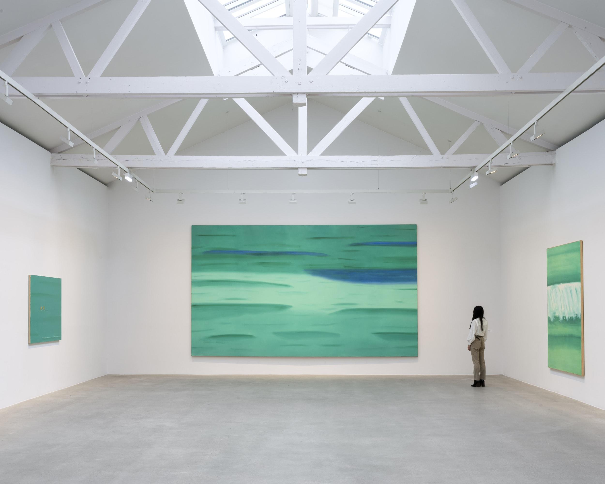 Alex Katz Mondes flottants Floating Worlds curated by Éric de Chassey