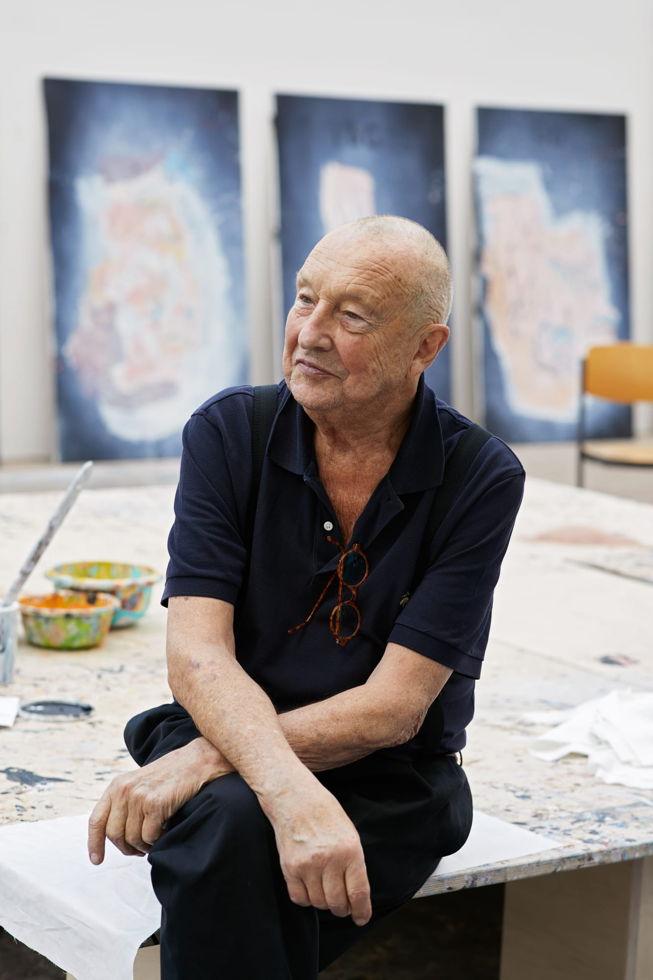 When everything turned upside down: Georg Baselitz donates six pathbreaking paintings to the Met