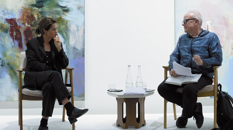 Artist Talk: Megan Rooney & Hans Ulrich Obrist