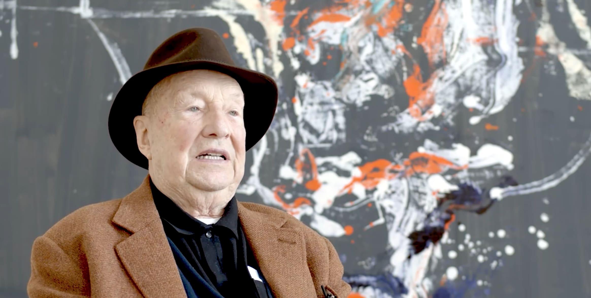 Georg Baselitz Freitag war es schön interview