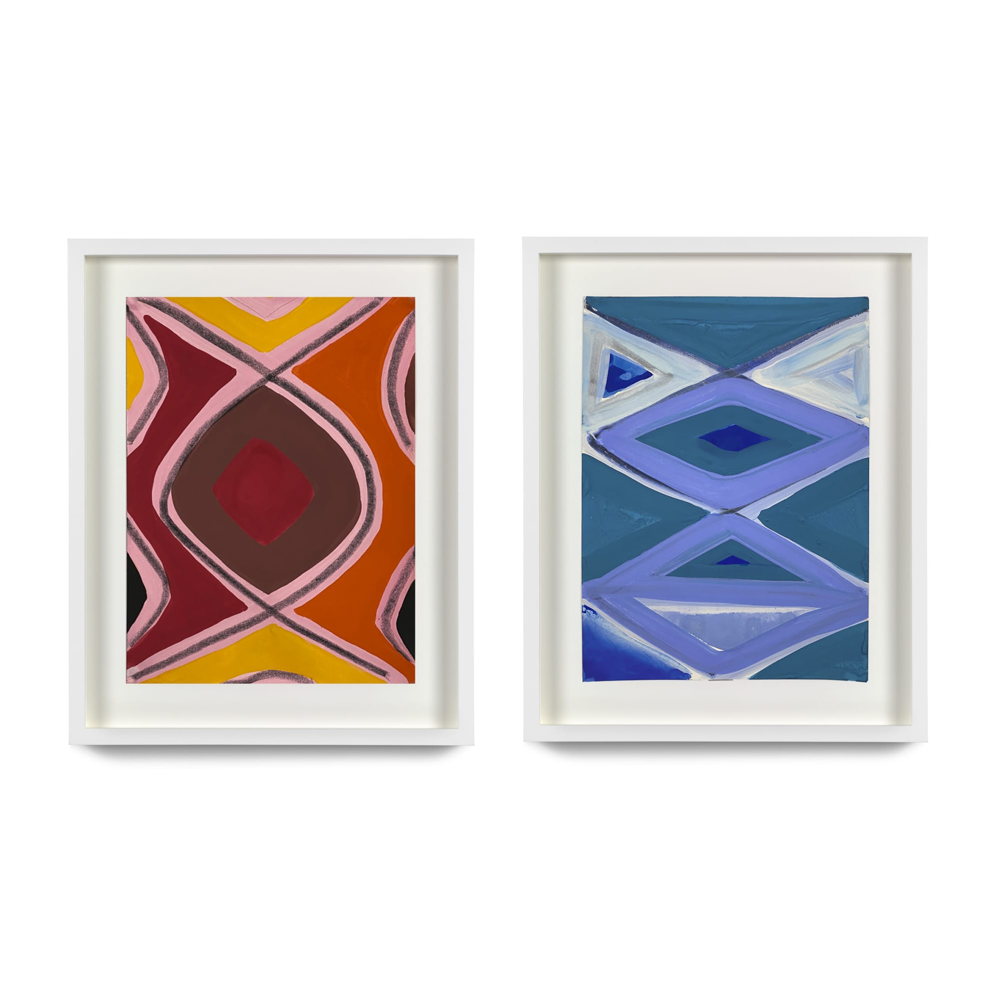 Marina Adams: Works on Paper (2016–2021)