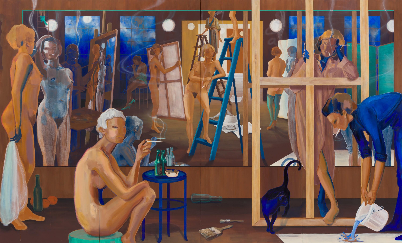 Lisa Brice GEM Museum of Contemporary Art
