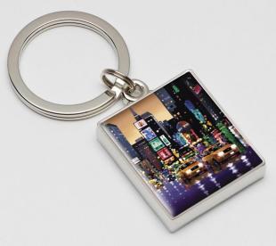 Neil Dawson Bright Lights Big City - Keyring Limited Edition Enamel - Keyring Limited Edition of 500