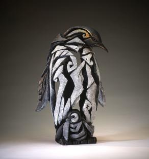 Matt Buckley Penguin Marble Resin Sculpture 14 3/4 x 9 3/4 x 7 3/4 in 37.3 x 24.9 x 19.6 cm