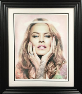 """JJ Adams Kylie Colour , 2018 Signed Limited Edition Frame Size: 41.5"""" x 35.5"""" Limited Edition 24 of 50"""