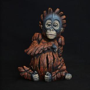 Matt Buckley Baby Orangutan, 2018 Marble Resin Sculpture 8.1 x 5.5 x 3.6
