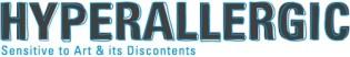 Hyperallergic (Sensitive to Art & its Discontents) logo