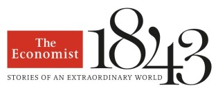 The Economist 1843 (Stories of an Extraordinary World) logo