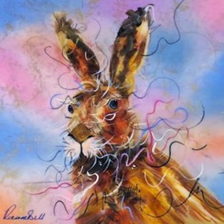 Rozanne Bell, Hare Raising, 2018
