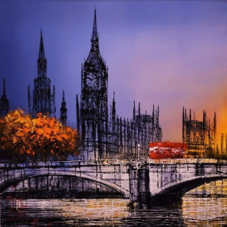 <span class=&#34;artist&#34;><strong>Nigel Cooke</strong></span>, <span class=&#34;title&#34;><em>Thames View</em>, 2018</span>
