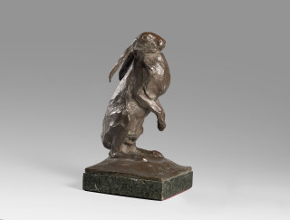 Sirio Tofanari, Bronze sculpture of a hare