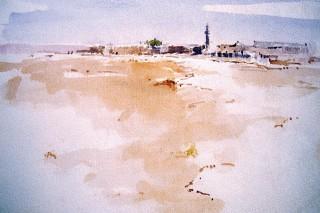Rashid Al Khalifa, Bahraini Desert, 1980