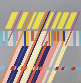 Carlo Nangeroni, Diagonali - serie - luce I, 1962