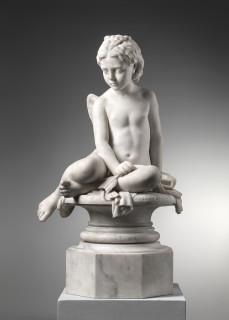 Odoardo Fantacchiotti, LOVE DEFEATED, Florence, 19th Century
