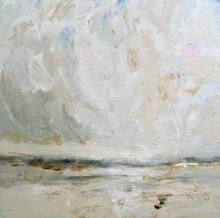 Louise Balaam, Sweeping Sky, Tide Going Out