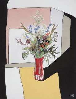 Kris Hargis, Cass Street bouquet, 2018
