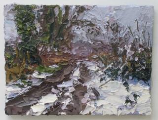 Colin Halliday, Snowy Lane, 2016