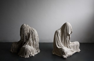 Grace Erskine Crum, Two Figures, 2014