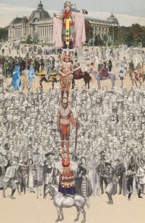 Sir Peter Blake, Four Man Up: Paris Quartet