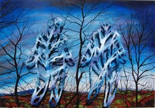 Randy Klein, Conversation in the Wood, 2014