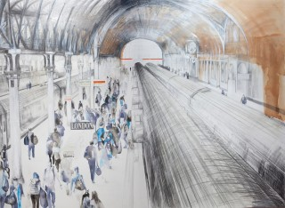Lily Forwood, Paddington Station II, 2015