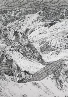 Lauriane Demolliens, Merging Mountains, 2019