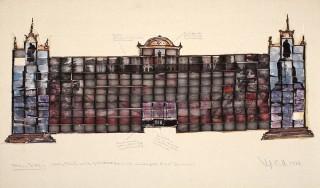 Vaughan Grylls, Stalin's Birthplace, 1989