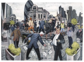 Ed Gray, Another Diamon Day, 'St Mary Axe', City of London, 2012