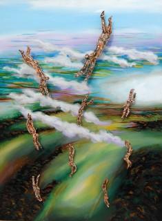 Randy Klein, Flying, 2014