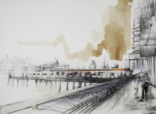 Lily Forwood, Blackfriars Bridge, 2014