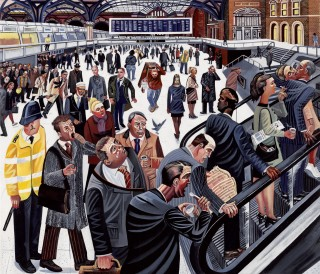 Ed Gray, Liverpool Street Station 1, 2007