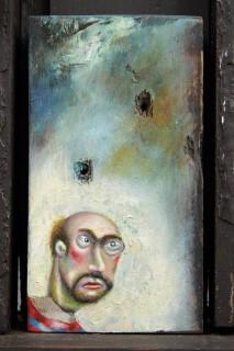 Carlos Cortes, I Was Adamant No One Should Cross The River, 2014-15