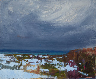 "<span class=""artist""><strong>Allan MacDonald</strong></span>, <span class=""title""><em>Ground Snow</em>, 2020</span>"
