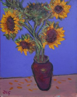 David Lloyd Griffith, Six Sunflowers