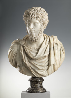 <span class=&#34;artist&#34;><strong>Laurent Delvaux</strong></span>, <span class=&#34;title&#34;><em>Bust of Emperor Lucius Verus</em>, ca. 1730</span>