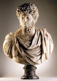 <span class=&#34;title&#34;><em>Bust of Emperor Marco Aurelio</em>, Rome, 17th Century</span>