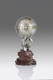<span class=&#34;artist&#34;><strong>Alexis Falize</strong></span>, <span class=&#34;title&#34;><em>Atlas Clock</em>, circa 1860</span>